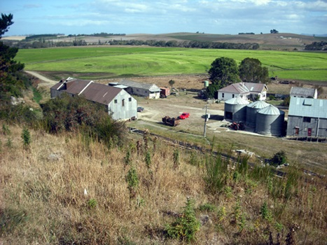Aerial View of Clarks Mill