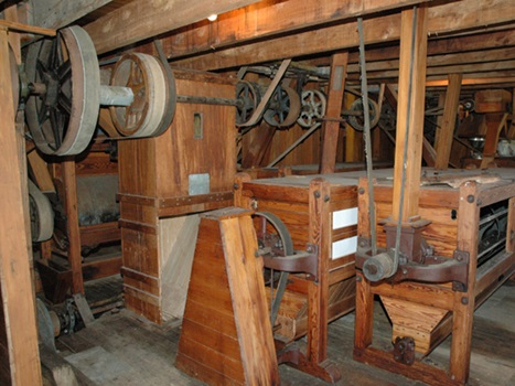 Interior of Clarks Mill