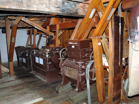 Interior view of Clarks Mill