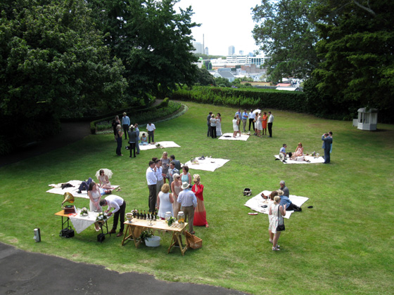 Corporate picnic at Highwic