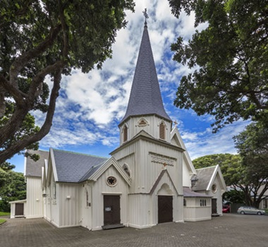 Old St Paul's, Wellington