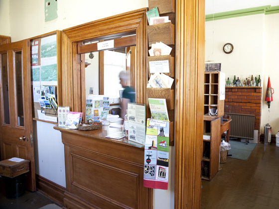 Interior of Ophir Post Office