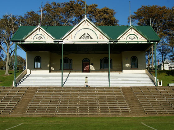 Cricket Ground Pavilion, Auckland