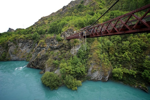 Kawerau Suspension Bridge