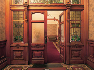 Antrim House interior door