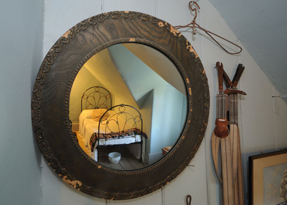 Mirror at Fyffe House