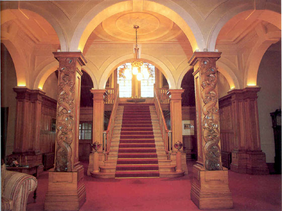 Staircase at Government House