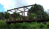 Mangaotuku Truss Bridge, Stratford