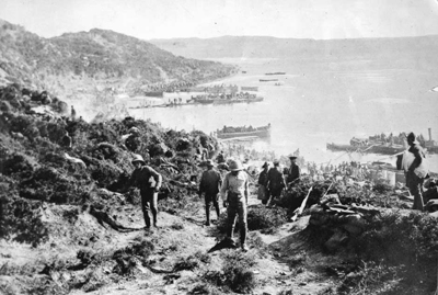 The Gallipoli Landings