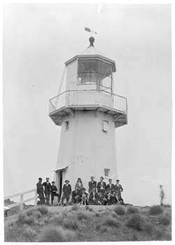 Pencarrow Lighthouse c.1900