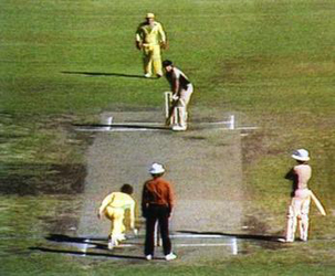 Underarm bowling incident of 1981