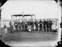 An early brass band