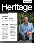 Heritage Quarterly, Autumn 2017