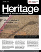 Heritage Quarterly Winter 2018