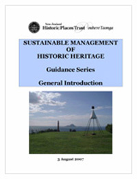 Sustainable management of historic heritage series
