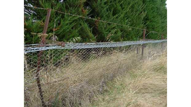 Search the List | Horsley Down Station Rabbit Fence | Heritage New