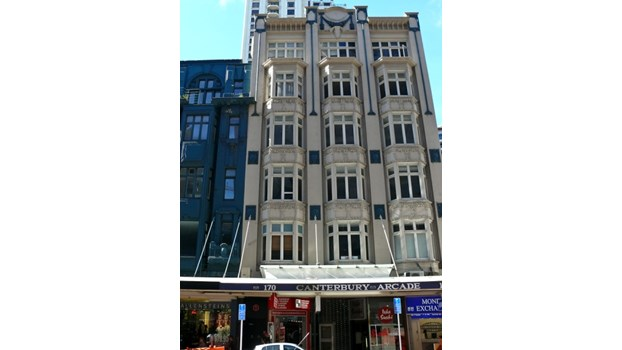 Search the List | Canterbury Arcade | Heritage New Zealand