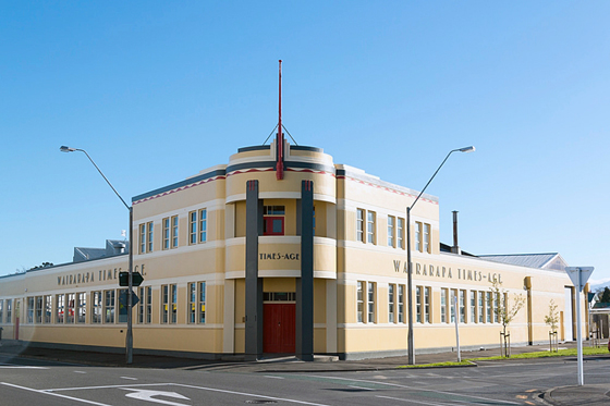 Search the list wairarapa times age building heritage new